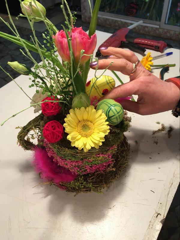 Необычные цветочные композиции из живых цветов своими руками 64