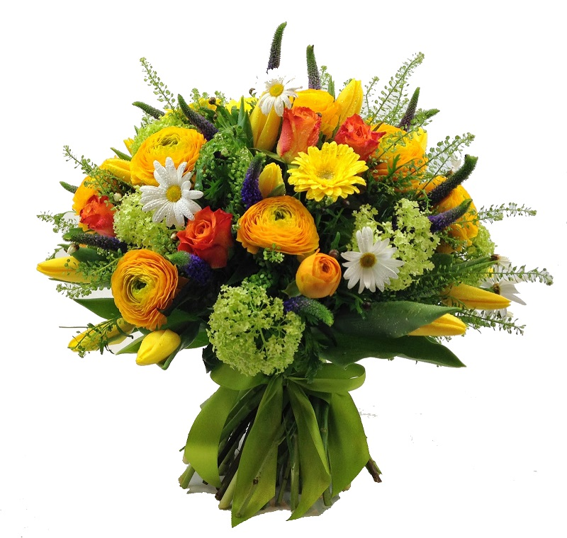 Корзины для цветов плетеные - a9042