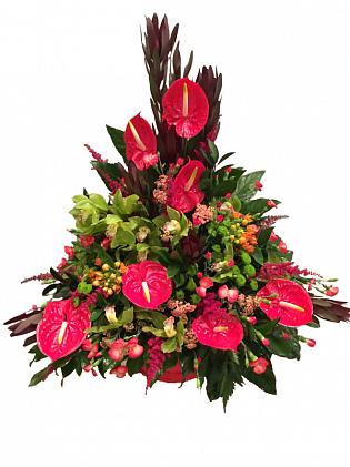 Цветы и композиции на 23 февраля