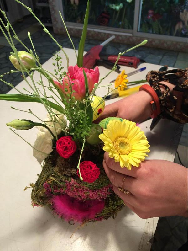 Подарочные букеты из живых цветов мастер класс, магазин склад